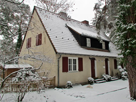 House in Snow