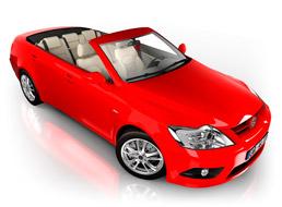 image of convertible car